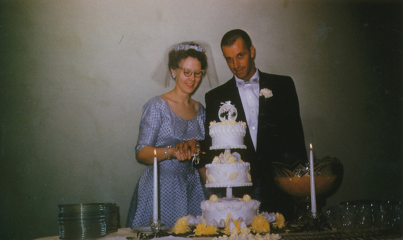 Rose and Dale Clark (Oct 18,1958).jpg