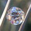 1.62ct Antique Cushion Cut Diamond GIA J VS1 26