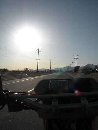 Southern Sierra Motorcycle Ride - March 11, 2010