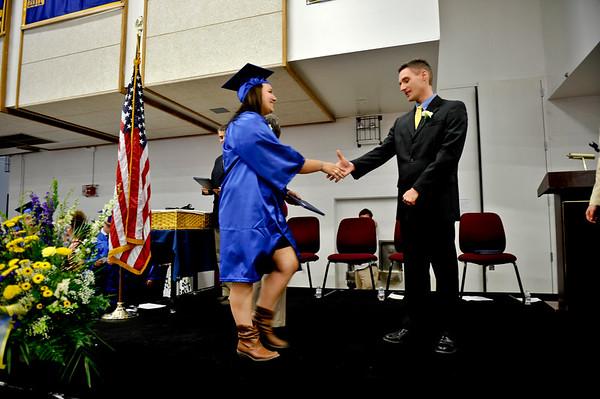 MHS Graduation Diplomas 2013