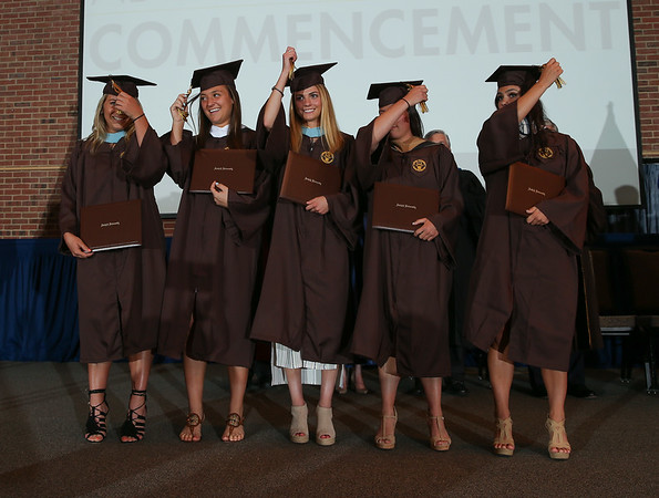 Womens Lacrosse Commencement Ceremony