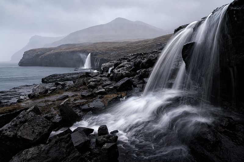 Eidi Waterfalls Landscape Photography Faroe Islands.jpg