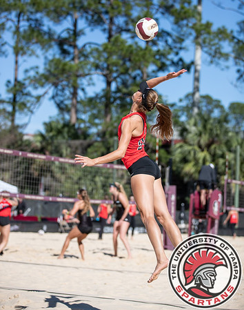 2020 Beach Volleyball Florida State Day One