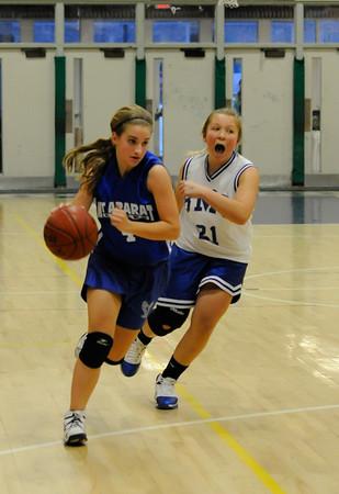 MAMS vs. BMS - 8th Grade Girls Basketball