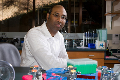 Dr. Ravi Majeti - In Lab