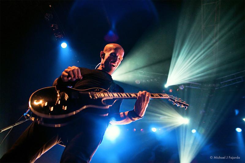 Zach Blair Rise Against Fillmore Auditorium, Denver, CO  April 16, 2011
