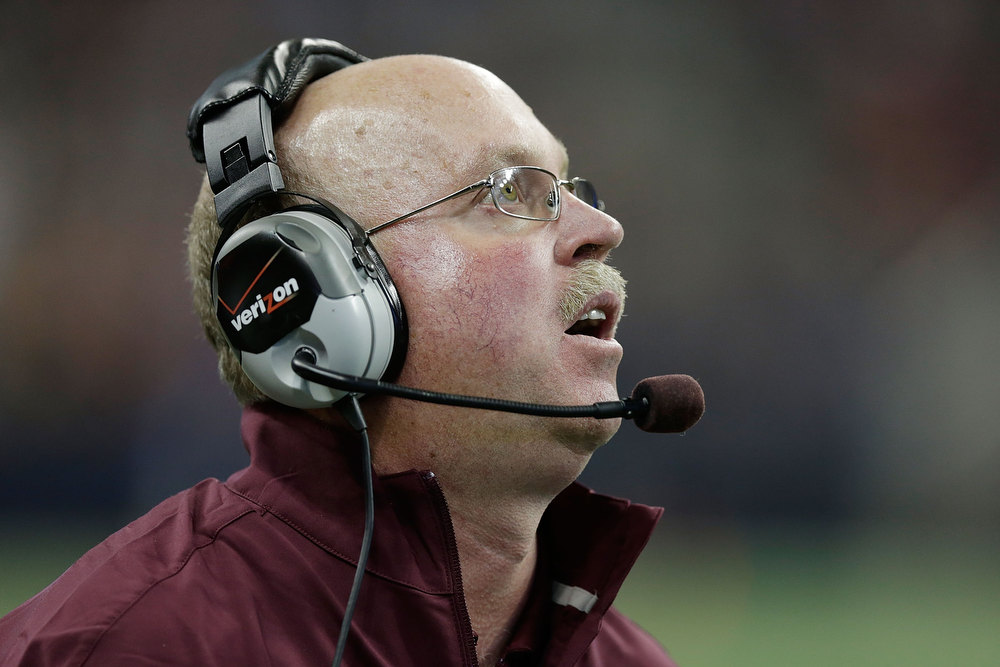 . Minnesota head coach Jerry Kill watches the play during the game against Texas Tech during the Meineke Car Care of Texas Bowl at Reliant Stadium on December 28, 2012 in Houston, Texas.  (Photo by Scott Halleran/Getty Images)