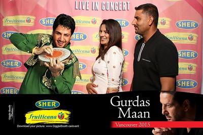 Fruiticana - Sher - Gurdas Maan Concert Vancouver 2015