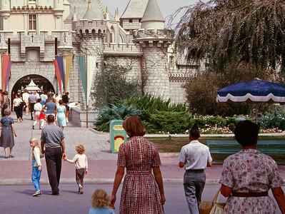 Disneyland 1961 circa
