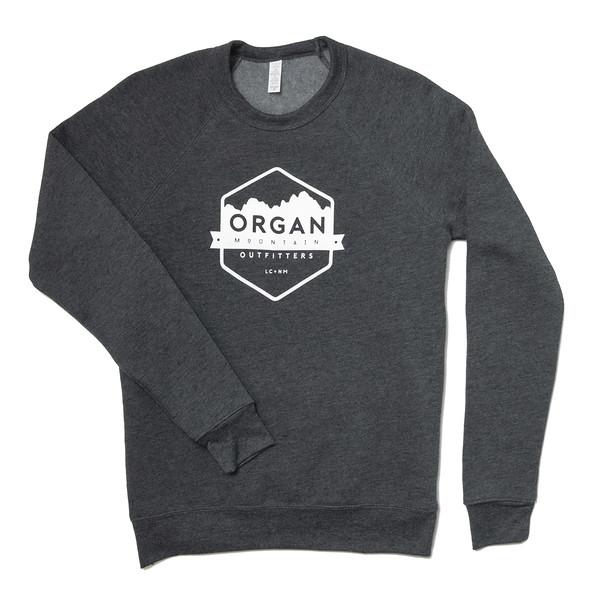 Organ Mountain Outfitters - Outdoor Apparel - Outerwear - Classic Fleece Crewneck Sweatshirt - Dark Grey Heather.jpg