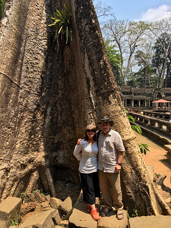 3-11-17 Ta Prohm Tomb Raider Temple in Cambodia