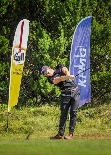 GR, Þórður Rafn Gissurarson Íslandsmót í golfi 2019 - Grafarholt 2. keppnisdagur Mynd: seth@golf.is