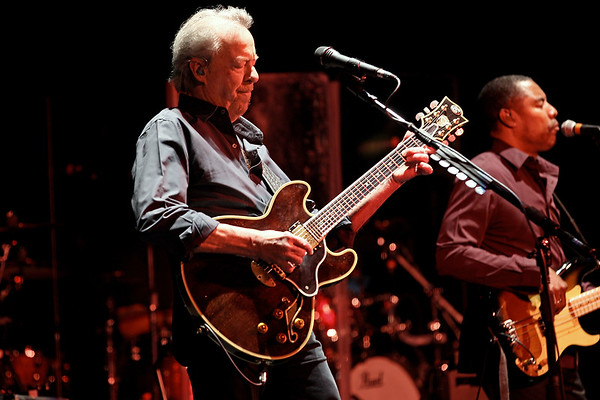 Kingston, NY - March 14 2019:  The Sunday, Apr 17, 2016 Boz Scaggs Concert at Ulster Performing Arts Center.