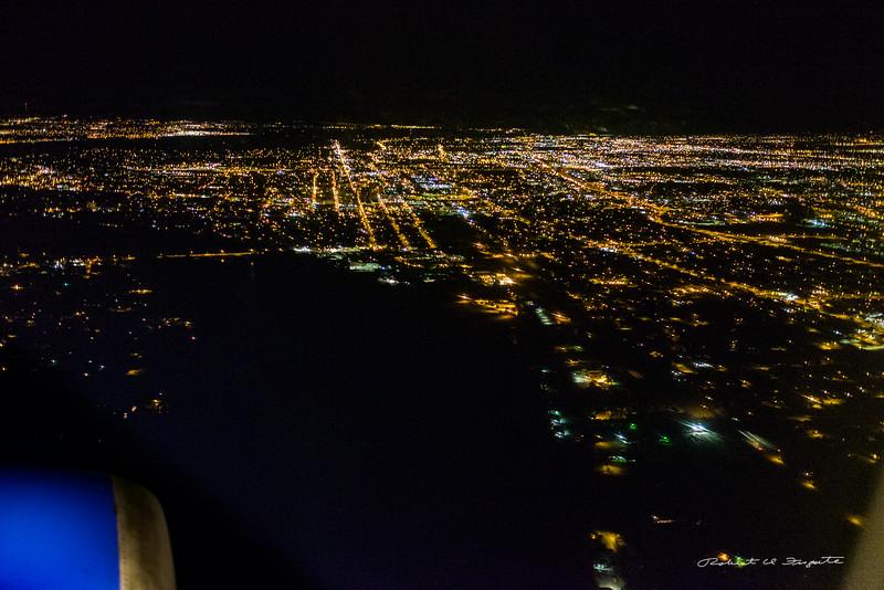 Albuquerque on approach