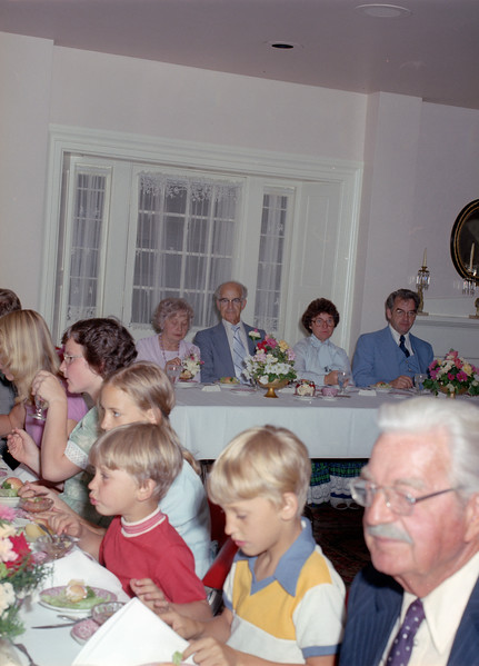 1976 or 1977 - 50th Wedding Anniversary