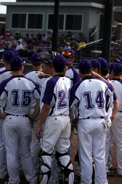 2015 Varsity Baseball vs. Walnut Hills