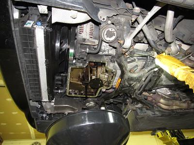 Lower oil pan (sump pan) replacement