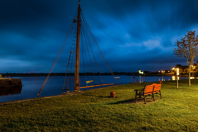 Kinvara by night, Co. Galway