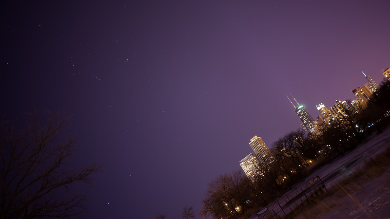 Orion over Chicago