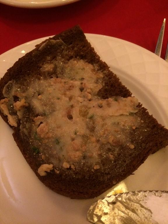 2014 DC Dark rye bread with schmalz at Old Europe