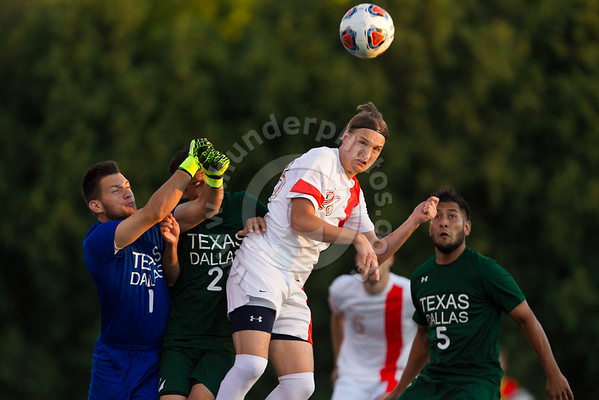 Wheaton College Men' Soccer vs UT Dallas, September 1, 2016