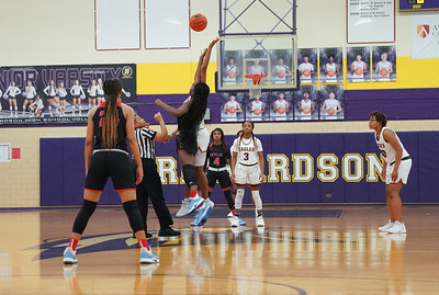 Richardson High School Girls Basketball vs Skyline