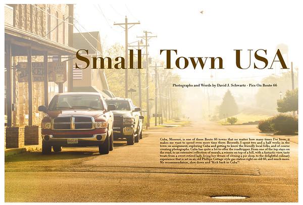 Small Town USA Cuba Missouri