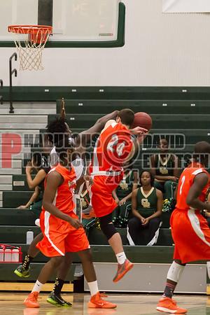 Boone Braves @ Oak Ridge Pioneers Boys Varsity Basketball - 2014