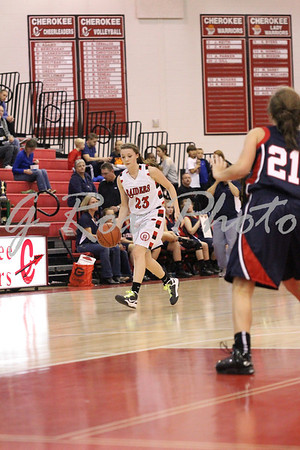 2012-11/8 8th Grade Teasley vs Freedom