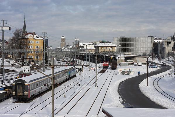 Swiss Trains - 2009