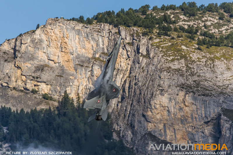 Swiss Air Force / McDonnell Douglas F/A-18C Hornet / J-5019
