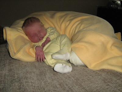 Caleb Cavan Henderson Seroussi, Born May 11, 2009