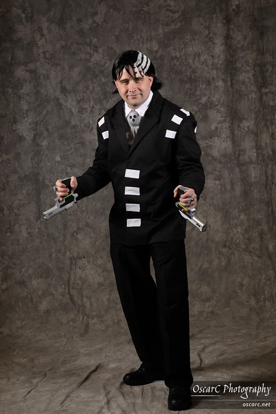 Death the Kid (Seth Bromwell) from Soul Eater