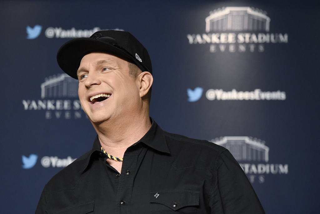 . Garth Brooks attends Garth Brooks New York Press Conference at Yankee Stadium on May 17, 2016 in New York City.  (Photo by Matthew Eisman/Getty Images)