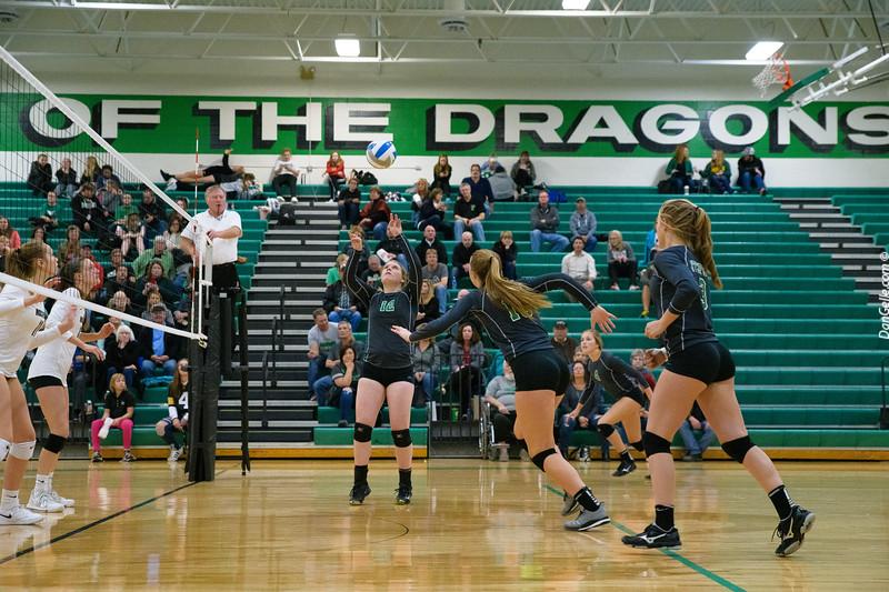 Dragons Volleyball vs Rockford Rockets