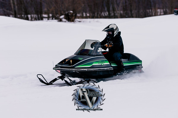 Snowmobile Obstacle Course