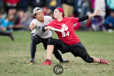 10-1-16 USA Ultimate Nationals Women's Semis - San Francisco Fury v Seattle Riot
