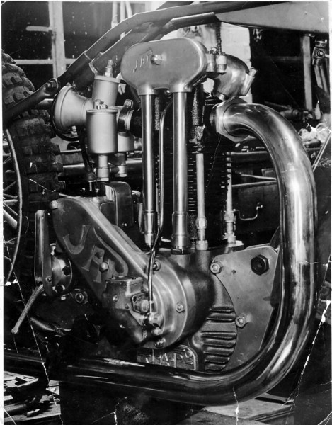 (Bingley Cree) JAP 1947 Speedway Engine, Now on display at: http://www.cmhf.ca/