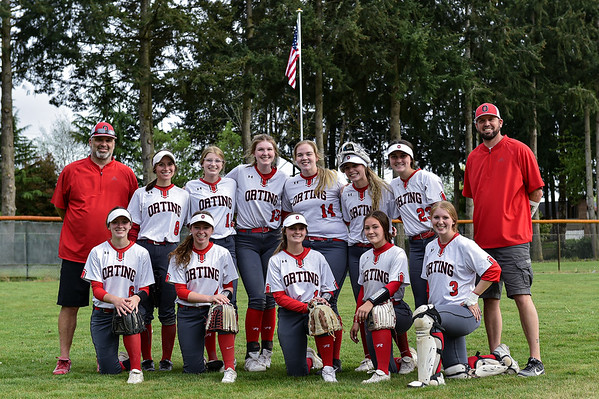 Orting Softball Team Picture
