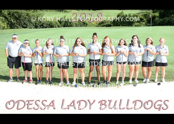 2018 OHS Girls Golf