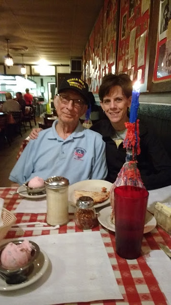 """Mike Gazella, Army, World War II Veteran, father of Teresa Gazella. Teresa says, """"My dad was drafted immediately after high school into the army where he served as an administrative NCO in Germany."""""""
