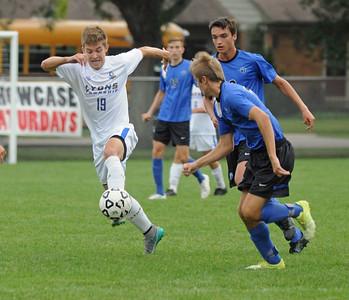 St. Charles North at Lyons Township boys soccer