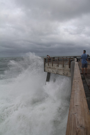 Tropical Storm Lee Navarre Pier