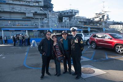 Darren Paraiso US Navy Commissioning