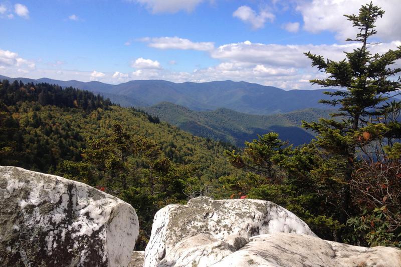 Shining Rock -- 5,900'