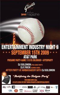 Entertainment Industry Party @ AT&T Park 9.15.09