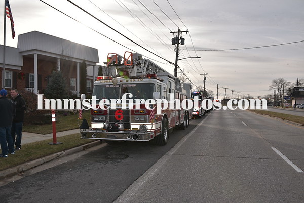 LEVITTOWN FD EX-CAPT  SCOTT JOHNSTON FUNERAL DETAIL 12-23-192
