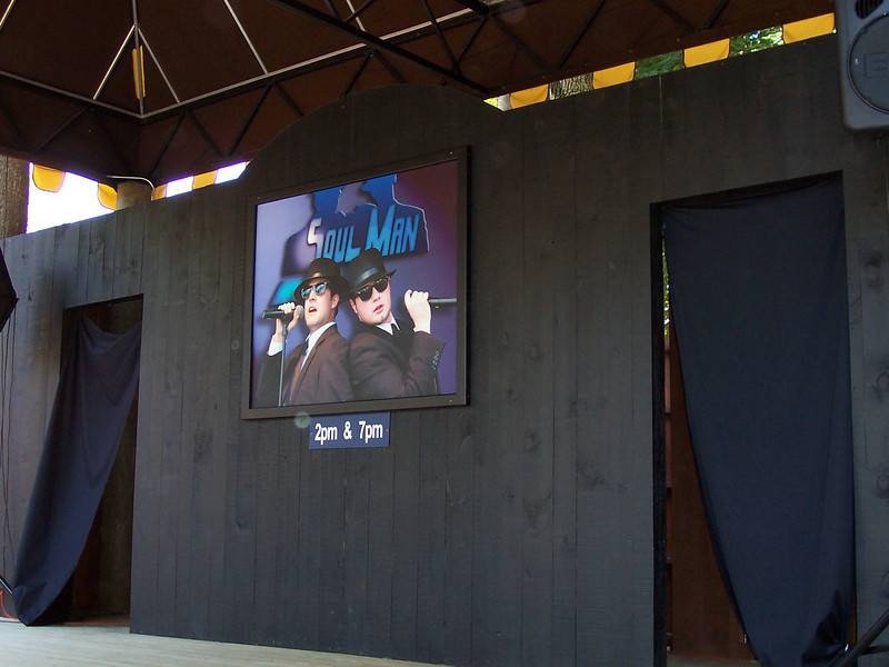Soul Man sign on the Western Stage.