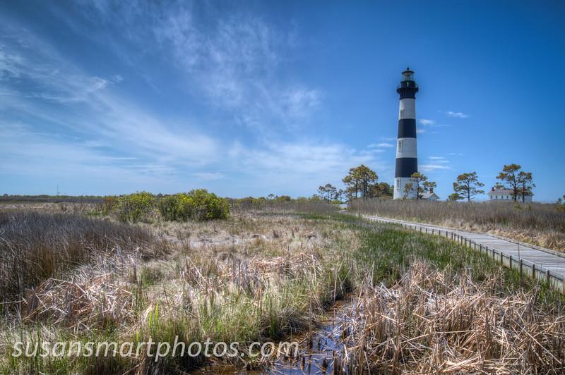 Bodie Island Lighthouse.  Taken from the observation platform.