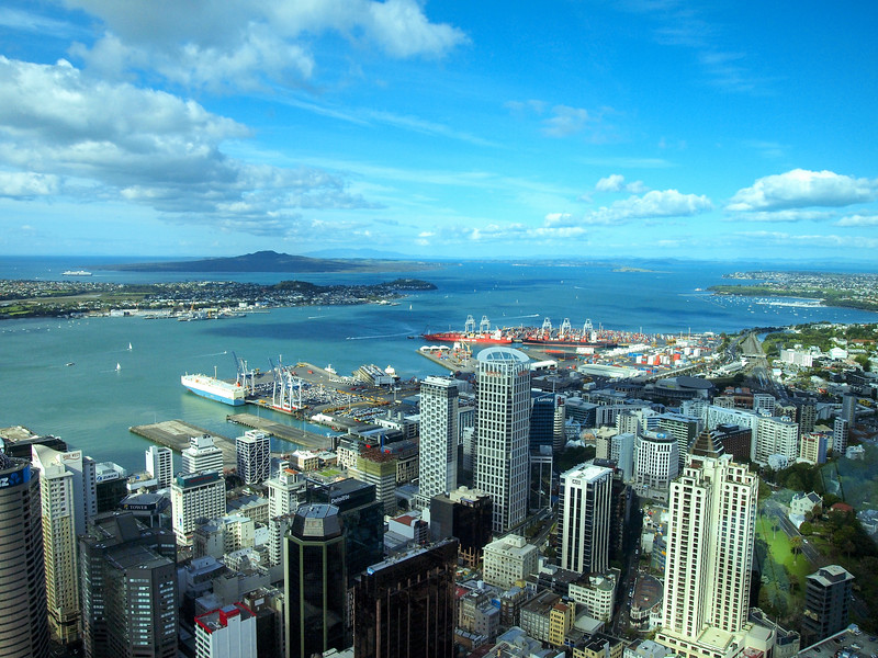 View from the Auckland Sky Tower